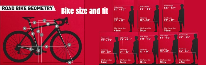 Bike size and fit