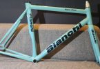 Bianchi Super Pista Frameset Track Bicycle Celeste In 2018