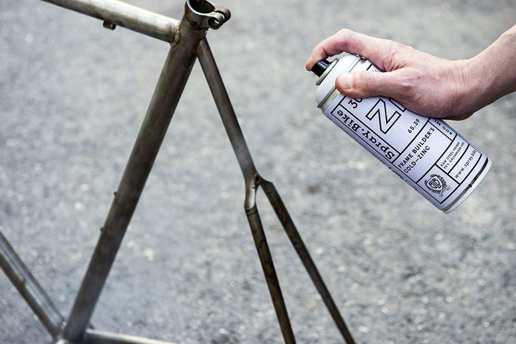 build a single speed bike: Apply primer