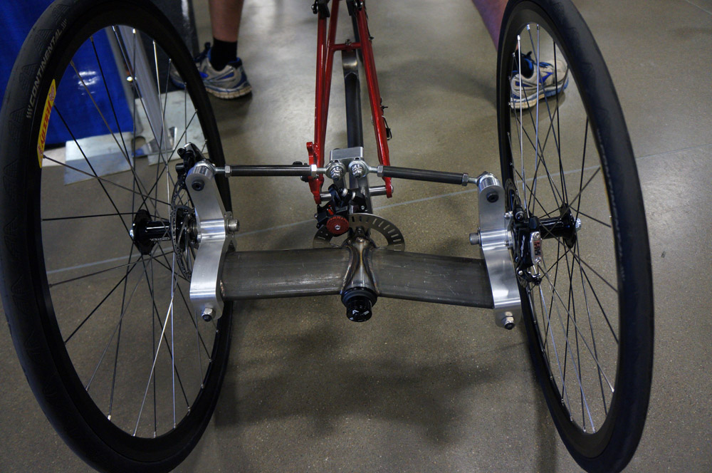 How To Build a Tricycle for Adults: Install the rear wheels