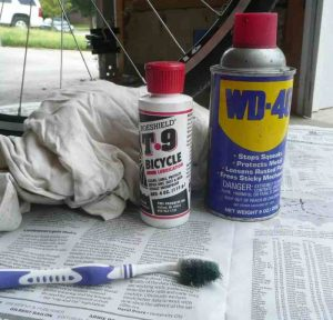 how to clean a bicycle chain - things need