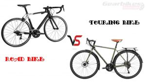 Difference Between Road bikes and touring bikes