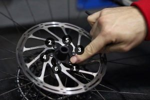 Fasten the Bolts - changing rotors