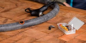 Fix the puncture - how to fix a bike tube with tape