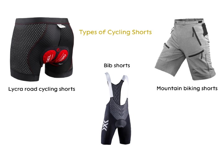 Different Types of Cycling Shorts